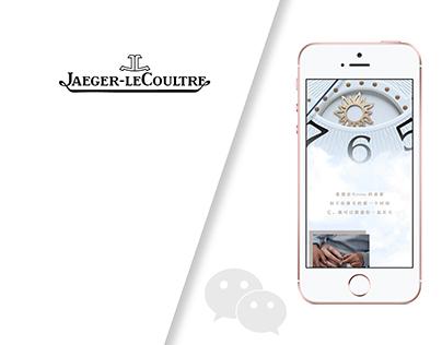 Jaeger-LeCoultre Wechat Post