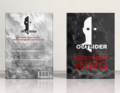BOOK COVER - OUTSIDER (Stephen King)