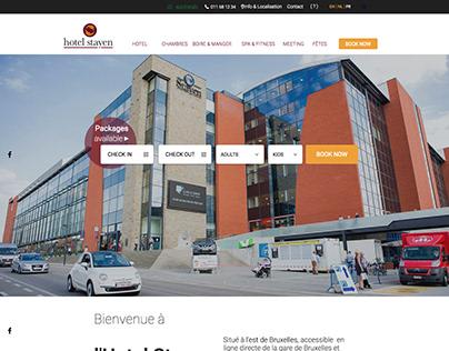 WEB   Multilingual Website   Hotel Stayen, Belgium