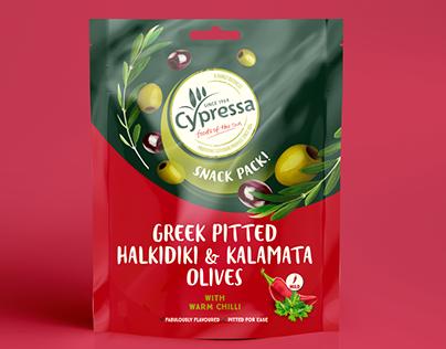 Cypressa - Olive Snack Packs.