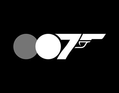 Conceito de Logo: James Bond 007