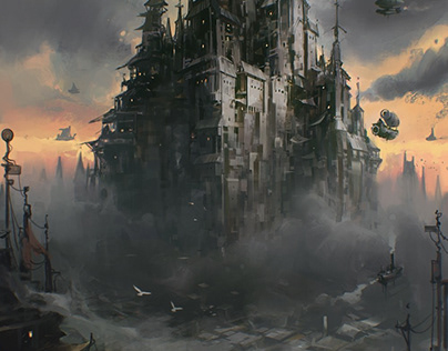 Steampunk City V2