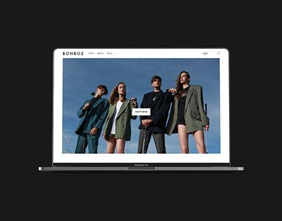 New Bonboz e-commerce website