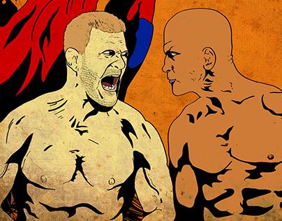 UFC 211 x Injustice 2 Cross-Promotional Fanzine
