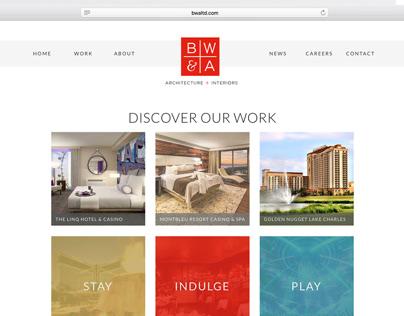 Website redesign for Bergman Walls & Associates
