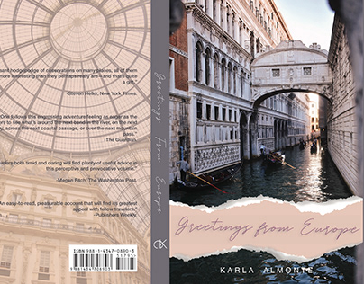 Travel book jacket