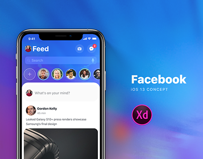 Facebook for iOS 13
