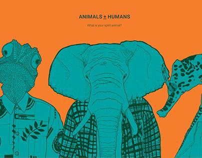 Animals + Humans
