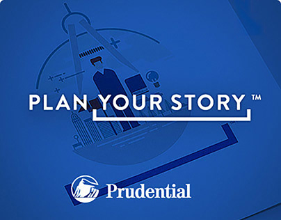 """Prudential Brand Slogan """"Plan Your Story"""" Brand Experie"""
