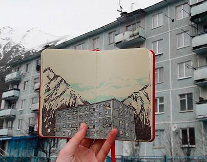 #silatrekelbrus diary