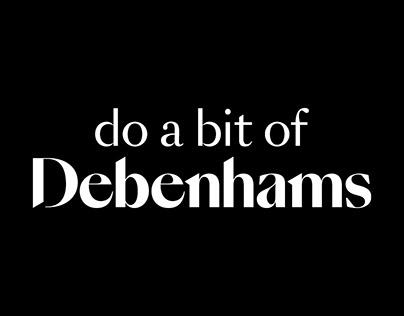 Debenhams rebrand