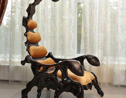 Creative Arm Chair Design Scorpion