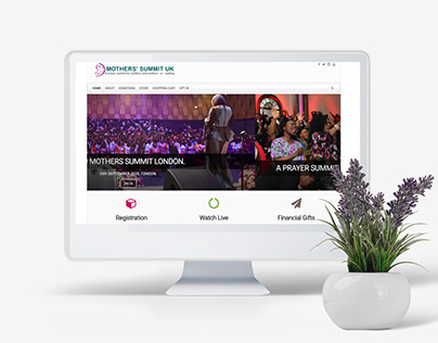 Brand development for Mothers Summit London