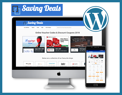 saving-deals.com (Designed & developed from scratched)