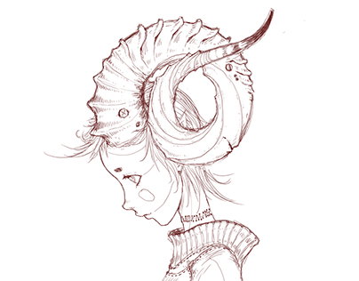 Sketch #3 : Zodiac Sign