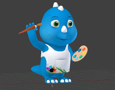 3d character rig and animation
