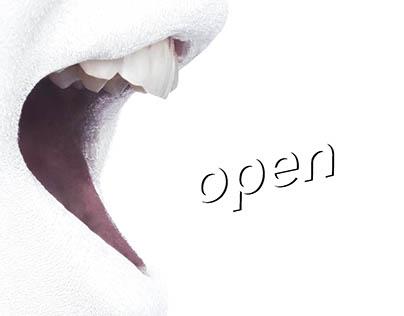 Open Exhibition '17 Branding