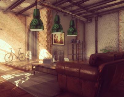 Industrial Interior (Unity 3D)
