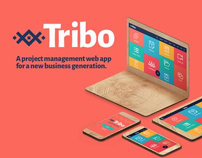 TRIBO, Project management responsive Web App