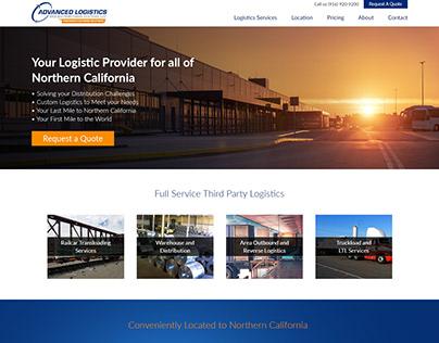 Advanced Logistics - Web Design and Development