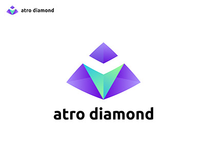 Abstract A Logo, Diamond,