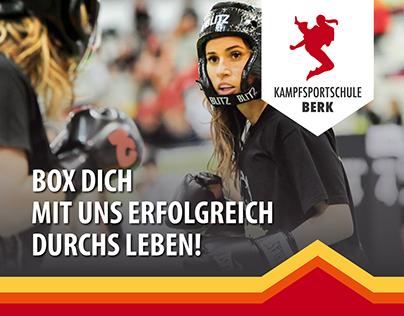 Kommunikationskonzept Kampfsportschule Berk