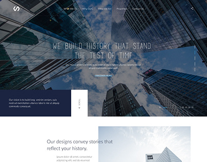 Architecture firm page