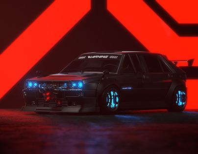 HellaFlush Style Car