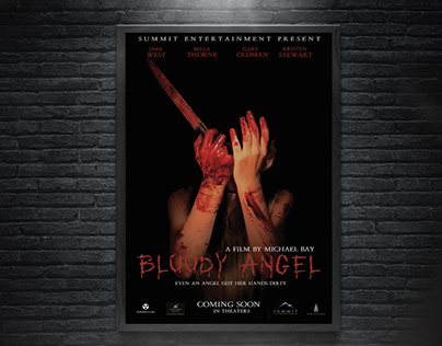 Bloody Angel - Movie Poster Promotional