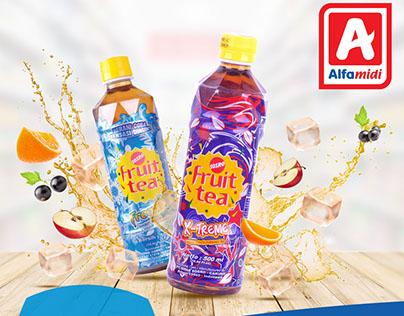 ALFA MIDI FRUIT TEA PRINT ADS FOR BCA