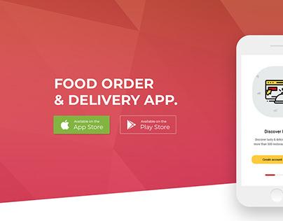 UI/UX | App Design | Food Delivery