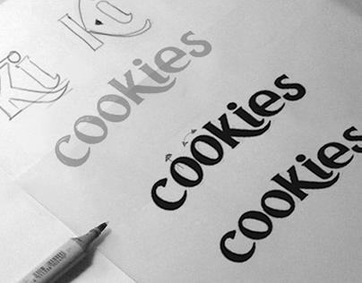 Mega Cookies Lettering