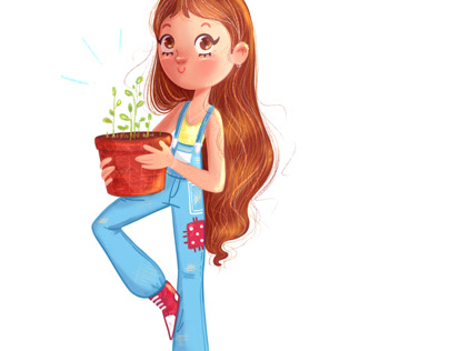 Character Design - Plant Lover