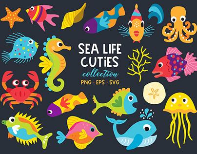 Sea Life Cuties