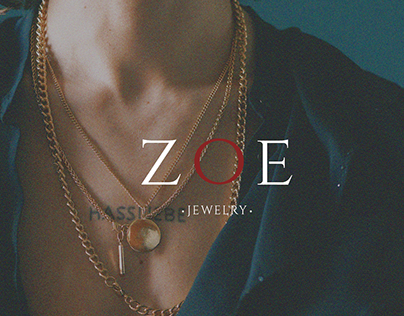 ZOE jewelry   Logo, brand identity