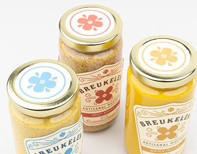 Breukelen Deli Mustard Packaging