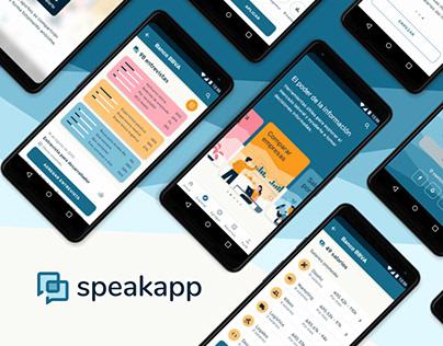 Proyecto UX/UI Speakapp