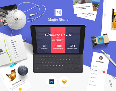 Magic Stone UI Kit