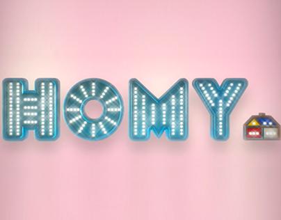 Homy - Campaña Institucional