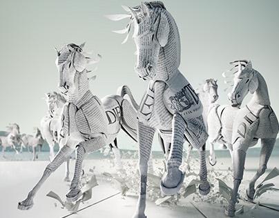 Zeit - Paperhorses