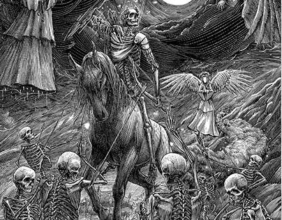 «Horseman named Conqueror»