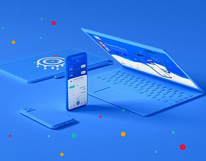 Mobile app for instant money transfers | UI/UX
