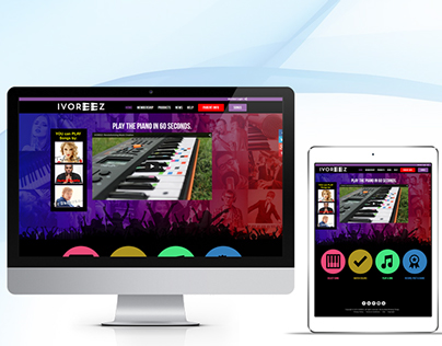 Learn Playing piano - Ivoreez