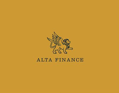 ALTA FINANCE - Logo & Webdesign