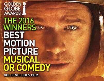 Golden Globe Winners 2016 | Best Motion Picture - Music