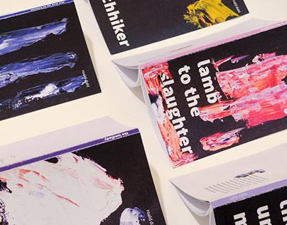 seeries: Roald Dahl Book Cover Design + Packaging