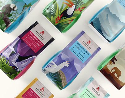 Kaphi Beans. Branding&Packaging