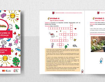 Children's activities book - Editorial design