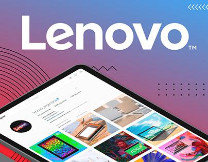 Lenovo Argentina - Instagram - Dirección Creativa
