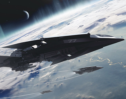 Military ship concept
